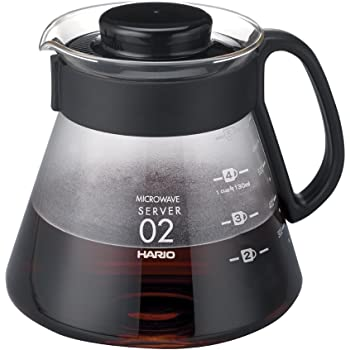 HARIO(ハリオ) V60レンジサーバー 2-5杯用 日本製 XVD-60B