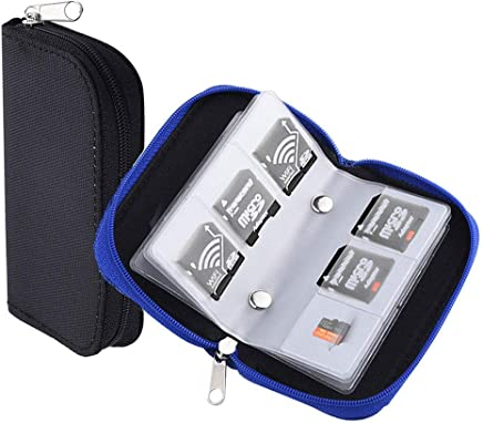 HEEFEN 2 Pezzi 22 Slot per Scheda di Memoria SD, SDHC, Micro SD, Mini SD Custodia Protettiva - Trova i prezzi più bassi
