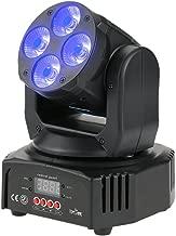 Tomshine 40W 12 LED RGBW Efecto de lavado Moving Head Stage Luz AC90-240V 14/16 canales de apoyo de sonido de activación Auto DMX512 Master esclavo de modo de fiesta KTV Pub Bar School Show