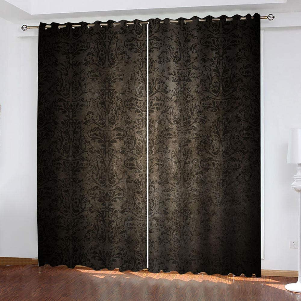 2021 spring and summer new ZJZWLW Blackout Curtains for Bedroom - Genuine Free Shipping Insulated Light B Thermal