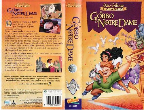 Il gobbo di Notre Dame (1996) VHS DISNEY