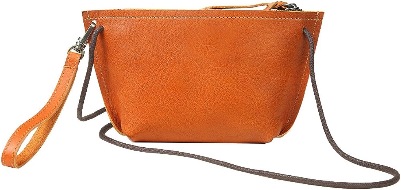 Genda 2Archer Mini Sling Shoulder Bag Leather Wristlet Bag