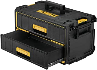 DEWALT Tool Organizer, 2 Drawers, Tough System (DWST08290)