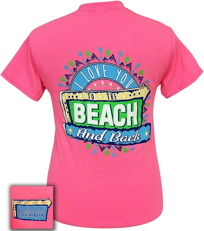 Girlie Girl Beach and Back Preppy Short Sleeve TShirt