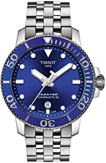 Tissot Men's Seastar 660/1000 Stainless Steel Casual Watch Grey T1204071104100