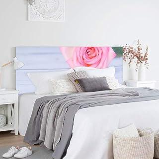 setecientosgramos Cabecero Cama PVC | PinkRose | Varias Medidas | Fácil colocación | Decoración Dormitorio (150x60cm)