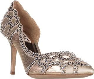 Badgley Mischka Marissa D'Orsay Heels, Ivory