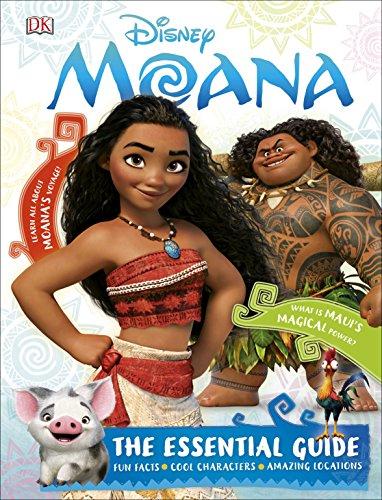Disney Moana The Essential Guide