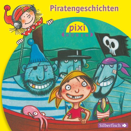 Piratengeschichten audiobook cover art