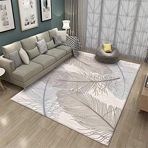 YTJHFA Alfombras Salas de Estar alfombras Grandes de Pelo Corto Alfombra Moderna...