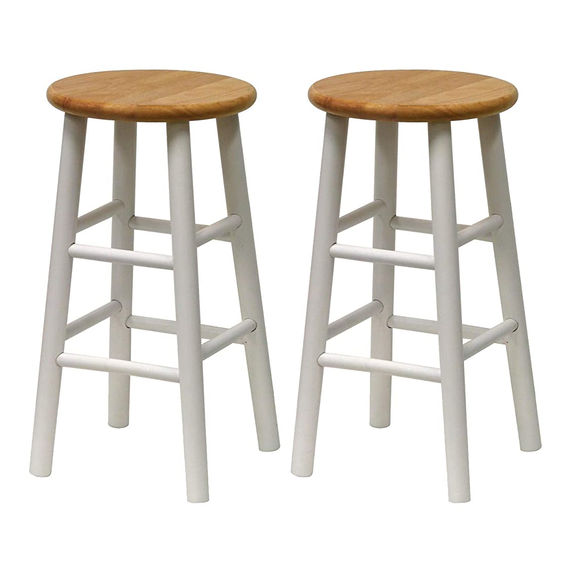 Winsome 53784 Tabby Stool, White iwpds9584534815