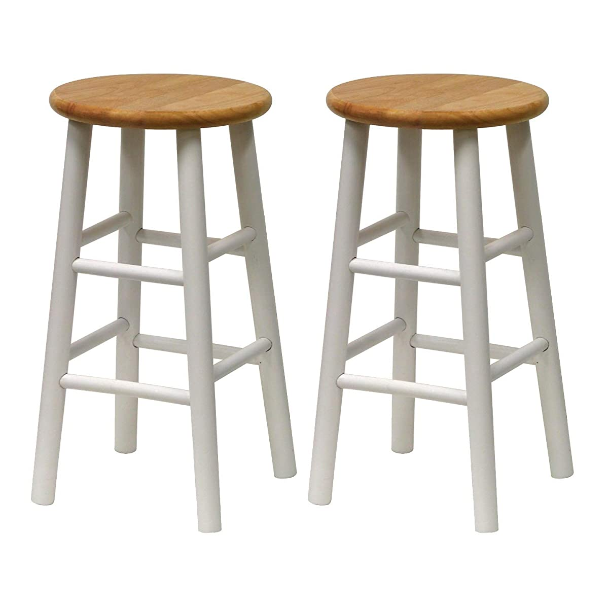 Winsome 53784 Tabby Stool, White
