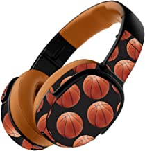 MightySkins Skin Compatible with Skullcandy Crusher 360 Wireless Headphones - Basketball | Protective, Durable, and Unique Vinyl wrap Cover | Easy to Apply, Remove | Made in The USA
