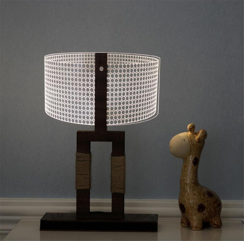 H&M Schreibtischlampe Atmosphere Lampe Bedside Lampe studieren Schreibtischlampe Dimmer Control Helligkeitsebenen Augenpflege Wohnzimmer Schlafzimmer Butterfly 3D Acryl Massivholz Tischlampe
