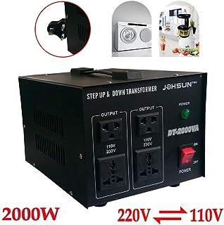 2000W 220V to 110V Voltaje Corriente, yiyiby pannungswandler Transformador 220V de 110V Step Up/Down Converter Convertidor 2000W Voltage Converter
