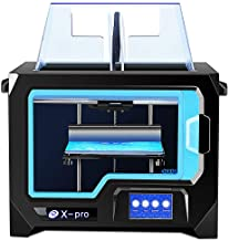 QIDI TECH 3D Printer, X-Pro 3D Printer with WiFi Function, Dual Extruder, High Precision Double Color Printing with ABS,PL...