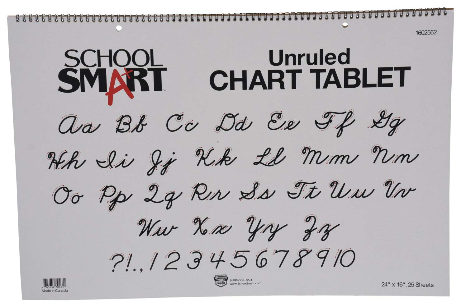 School Seasonal Wrap Introduction Smart Chart Tablet 24 x Unruled Special price for a limited time 25 16 Sheets Inches