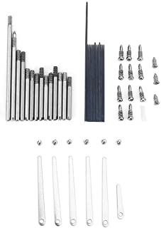 Clarinet Maintanance Tools Metal Repair Parts Replacement Kit Set Woodwind Instrument Repair Accessory