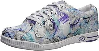 Storm Womens Meadow Bowling Shoes- White/Purple/Multi