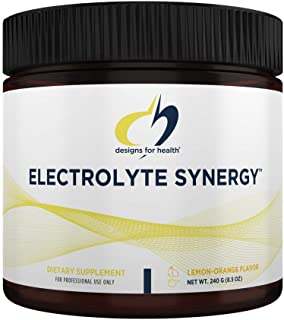 Designs for Health Electrolyte Synergy Powder - Hydration Support Drink Mix Powder Supplement with Vitamin C, D-Ribose + A...