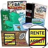Rente / Pflege Geschenk DDR / Ruhestand Geschenk Bier
