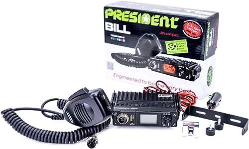 CB Radio PRESIDENT Bill - 40 canaux AM/FM TXPR001