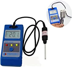 ELEOPTION Tesla Meter Gauss Meter with Probe WT10A The Fluxmeter Surface Magnetic Field Tester Gaussmeter with NS Function Metal Probe