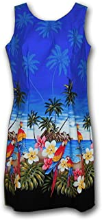 Hawaiian Sun Dresses Beach Parrot Dress