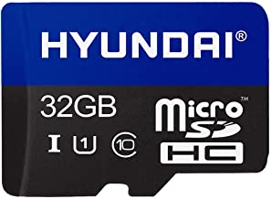 Hyundai 128GB Flash Class 10 U1 Micro SD Memory with Adapter - 90MB/S Read Speed and 21MB/S Write Speed Components SDC128GU1