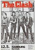 The Clash 1980 Germany Foto-Nachdruck eines Konzertposters
