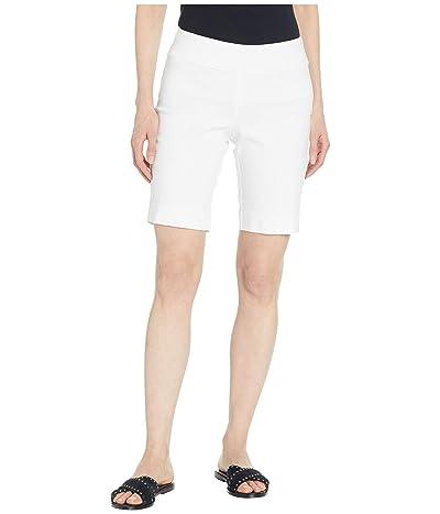 Krazy Larry Pull-On Shorts (White) Women