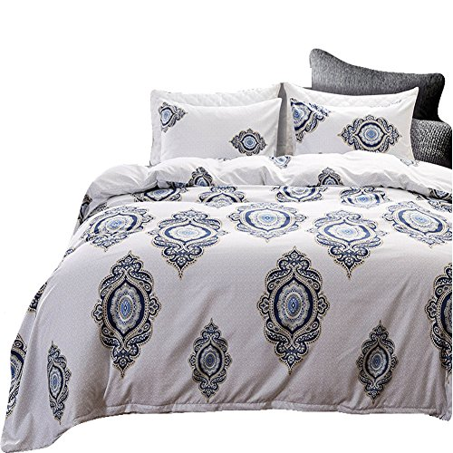 Black Temptation Inicio Impreso Soft Hotel Duvet Cover Set 2PC Twin Size #144