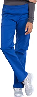 Cherokee Workwear Professionals WW170 Women's Mid Rise Straight Leg Pull-on Cargo Pant