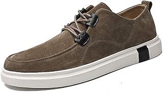 Men Business Oxford Superficial Chic Prosperous Outsole Fashion Sneaker casual shoes (Color : Khaki, Size : 41 EU)