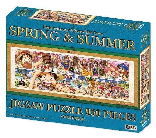 950 piece jigsaw puzzle one piece exhibition ONEPIECE SPRING & SUMMER (japan import)