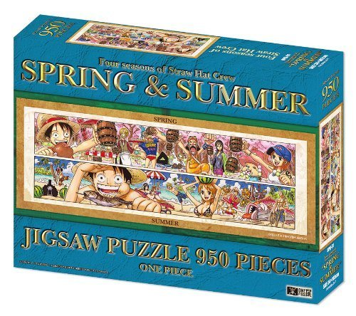 950 piece jigsaw puzzle one piece exhibition ONEPIECE SPRING & SUMMER (japan import)