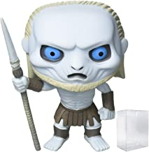 Funko Pop! Game of Thrones: GOT - White Walker #06 Vinyl Figure (Bundled with Pop BOX PROTECTOR CASE)