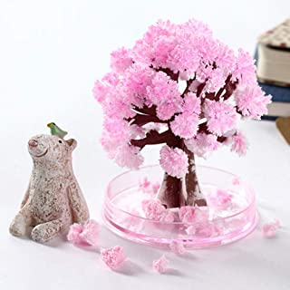 Canghai Magic Flowering Paper Tree Cherry Blossom Tree Creative Christmas Decoration Tree