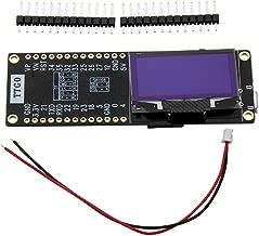 TTGO T-Eight ESP32 SH1106 1.3 Inch OLED Display IPEX 3D Antenna 4MB SPI Flash Psram Packet Monitor ESP32-WROVER Micropython