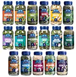 Litehouse Freeze-Dried Herbs All 18 Herbs and Blends Variety Gift Pack Collection (14 Herbs, 4 Herb Blends)