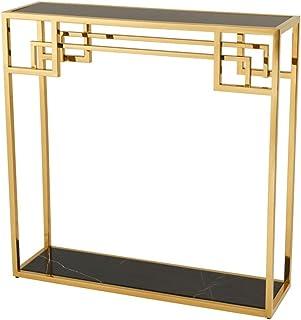 Casa Padrino Art Deco Consola de Mesa Oro - Muebles del Hotel Diseñador