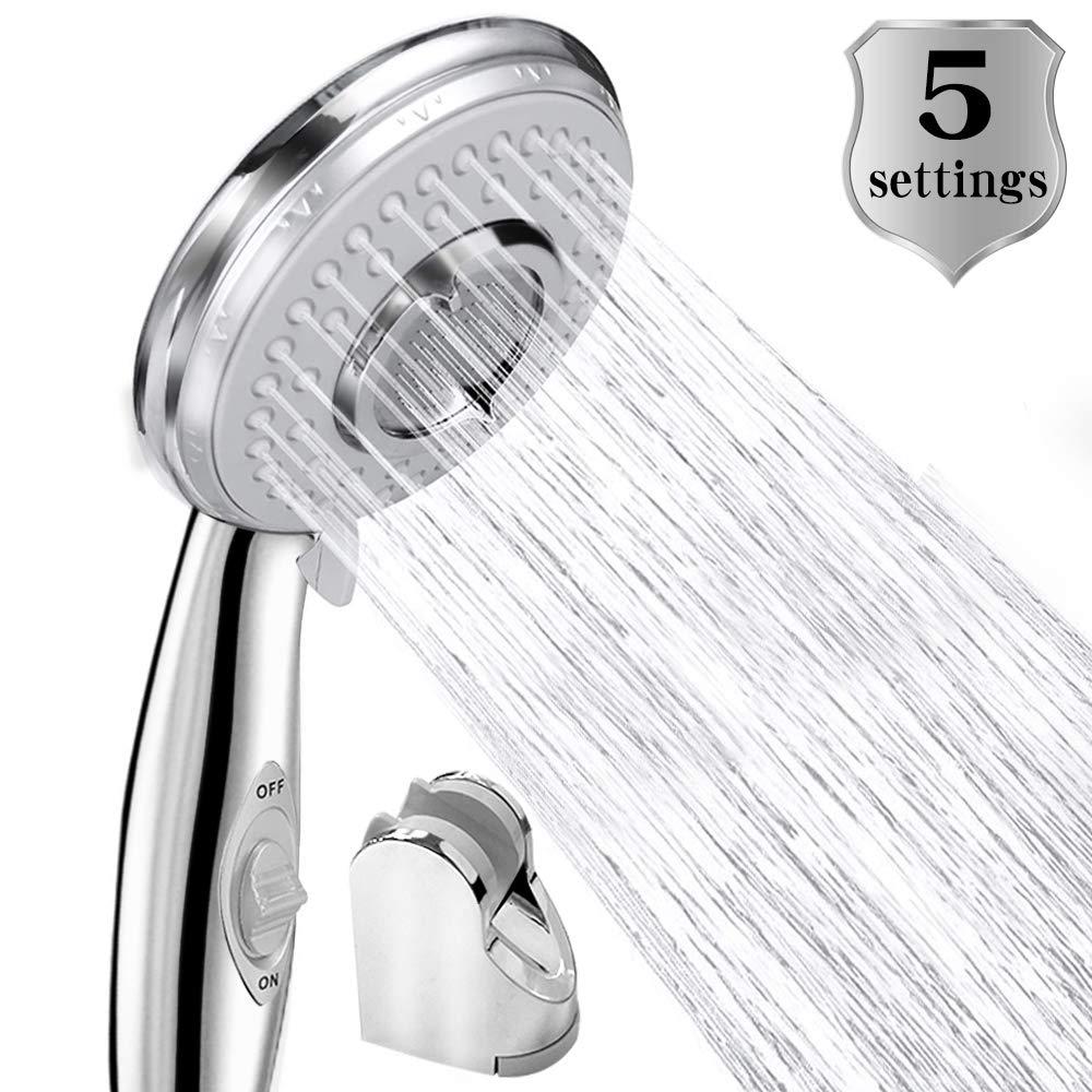 Shower Head Low Water Saving Pressure Boosting Handheld Shower Head