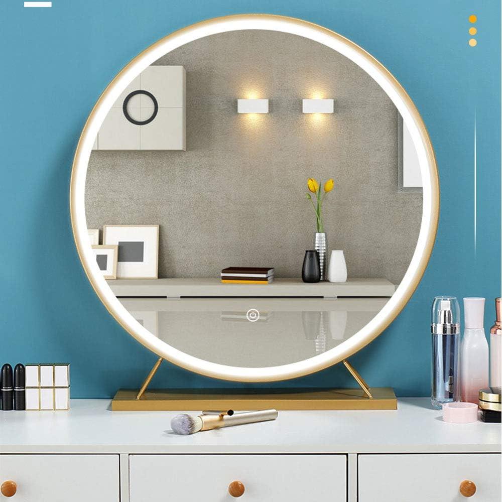 LED Illuminated Makeup Mirror Dressing Sm 毎日続々入荷 ブランド品 Desktop