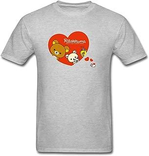 Dotion Men's Rilakkuma Design T Shirt