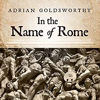 In the Name of Rome audiobook cover art