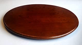 Master Garden Products Classic Oak Wood lazy Susan turn table.
