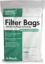 Kirby 204814 Micron Magic HEPA Filter Plus Bags, 6, White