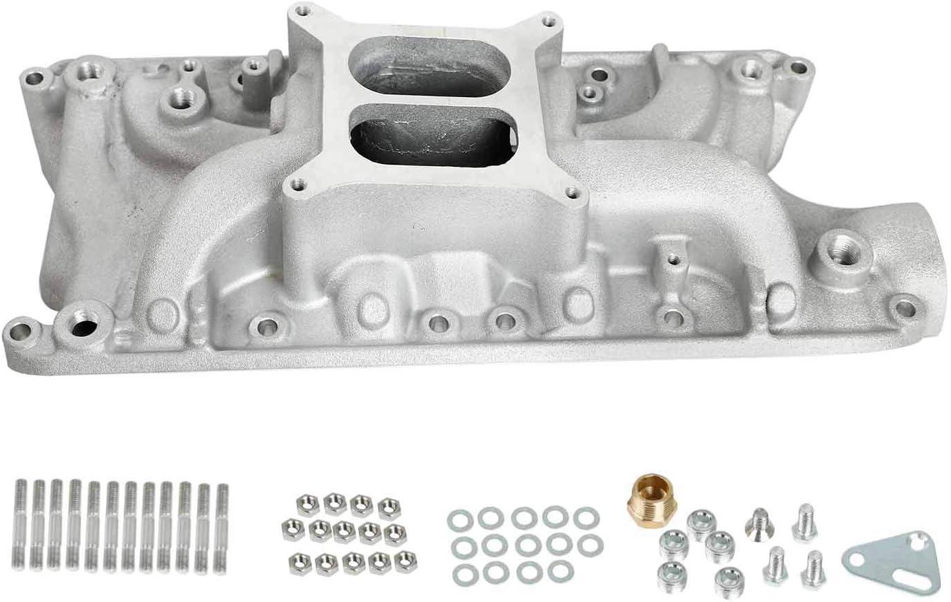TYFYB Aluminum Superior Air Gap Intake Manifold 1 year warranty 260 For SBF 28 Plane Dual
