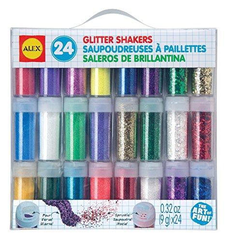 ALEX Toys Artist Studio 24 Glitter Shakers