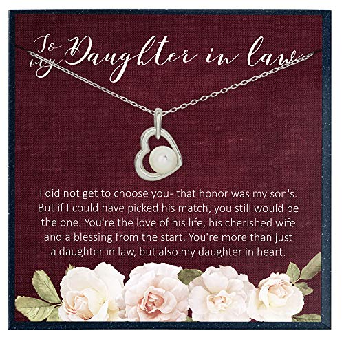 To My Daughter in Law Gifts for My Daughter in Law Necklace Gifts from Mother in Law to Daughter in Law Gifts Mother's Day Gifts